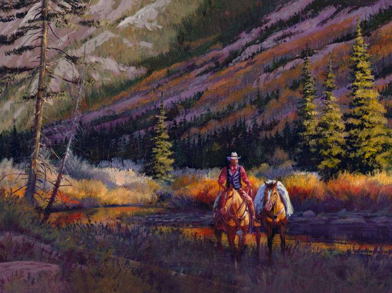 """""""High Canyon Descent"""" - Limited Editions - Giclees ..."""